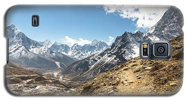 The Path To Cho La Pass In Nepal Galaxy S5 Case