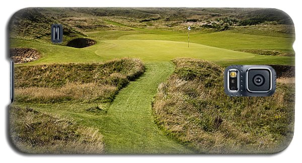 The Postage Stamp - Royal Troon Golf Course Galaxy S5 Case