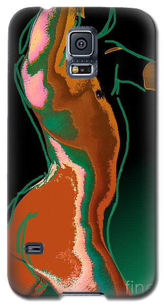 Galaxy S5 Case featuring the photograph The Race by Robert D McBain