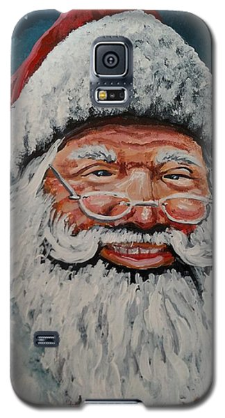 The Real Santa Galaxy S5 Case by James Guentner
