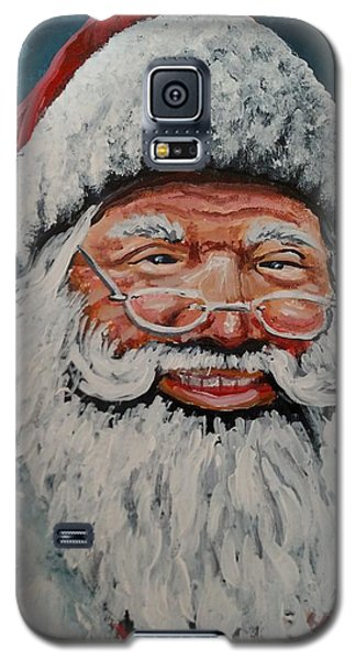 Galaxy S5 Case featuring the painting The Real Santa by James Guentner