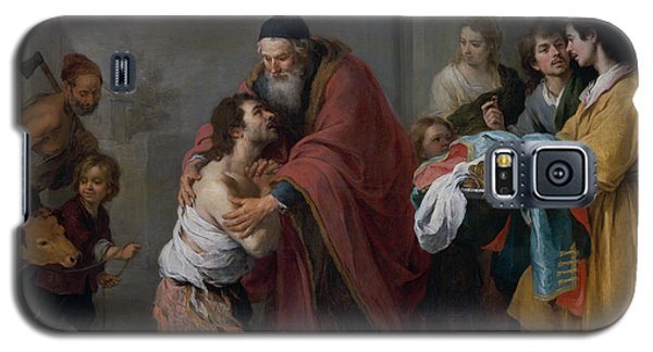 The Return Of The Prodigal Son Galaxy S5 Case by Bartolome Esteban Murillo