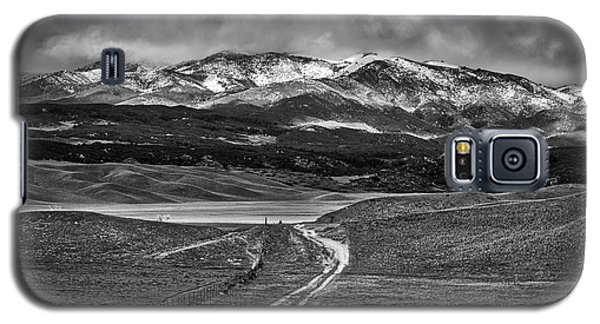 Galaxy S5 Case featuring the photograph The Road That Leads You Home by Peter Tellone