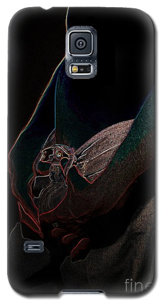 Galaxy S5 Case featuring the photograph The Shadow by Robert D McBain
