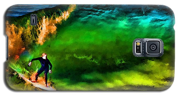 Galaxy S5 Case featuring the photograph The Shadow Within by John A Rodriguez