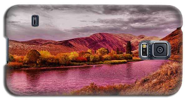 Galaxy S5 Case featuring the photograph The Yakima River by Jeff Swan