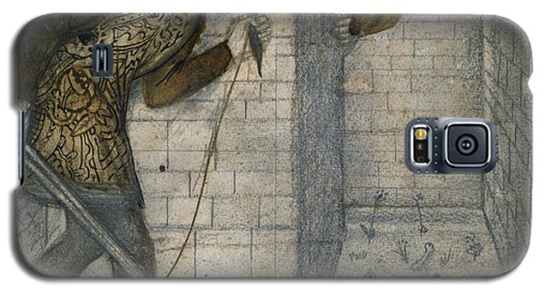 Theseus And The Minotaur In The Labyrinth Galaxy S5 Case by Edward Burne-Jones