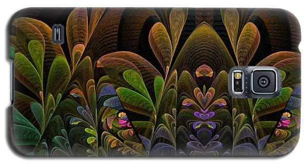 Galaxy S5 Case featuring the digital art This Peculiar Life - Fractal Art by NirvanaBlues