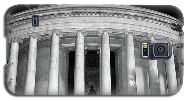 Galaxy S5 Case featuring the photograph Thomas Jefferson Memorial  by Mitch Cat