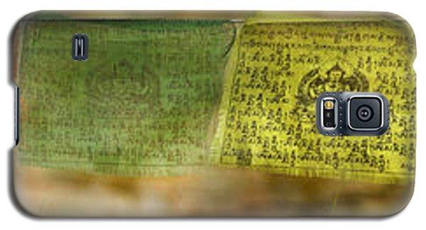 Tibetan Prayer Flags Galaxy S5 Case by Peter v Quenter