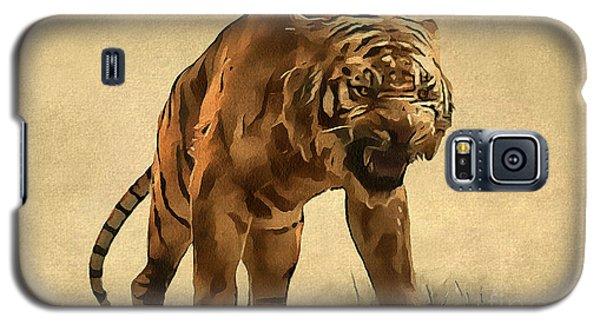 Tiger Galaxy S5 Case by Sergey Lukashin