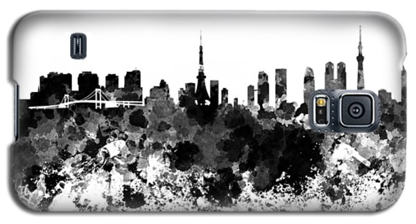 Tokyo Skyline In Watercolor On White Background Galaxy S5 Case
