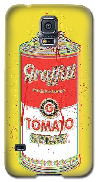 Tomato Spray Can Galaxy S5 Case by Gary Grayson