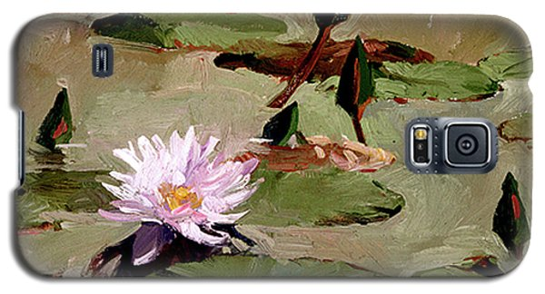 Tomorrow's Blooms- Water Lilies Galaxy S5 Case