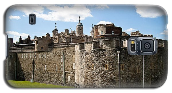 Tower Of London Galaxy S5 Case - Tower Of London by Dawn OConnor