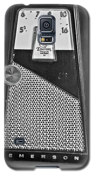 Galaxy S5 Case featuring the photograph Transistor Radio Blown Up by Matthew Bamberg