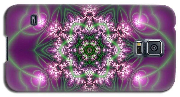 Galaxy S5 Case featuring the digital art Transition Flower 6 Beats 3 by Robert Thalmeier