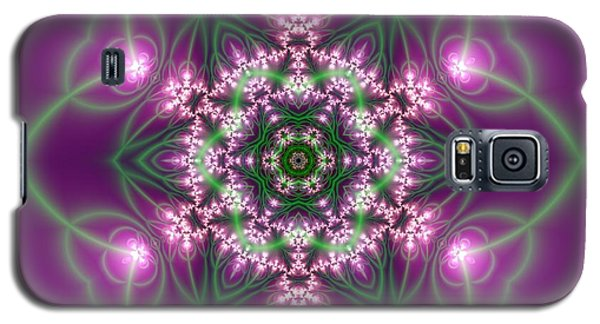 Transition Flower 6 Beats 3 Galaxy S5 Case by Robert Thalmeier