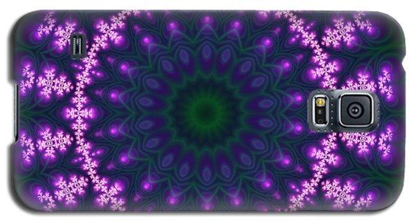 Galaxy S5 Case featuring the digital art Transition Flower  by Robert Thalmeier