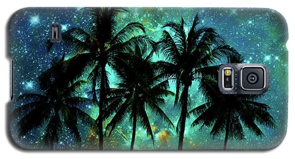 Galaxy S5 Case featuring the photograph Tropical Night by Delphimages Photo Creations