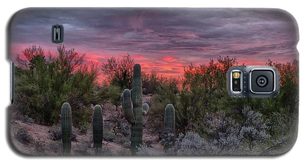 Tucson Sunset Galaxy S5 Case