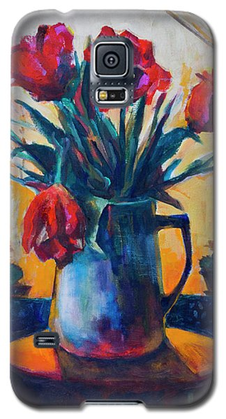 Tulips And Cacti Galaxy S5 Case