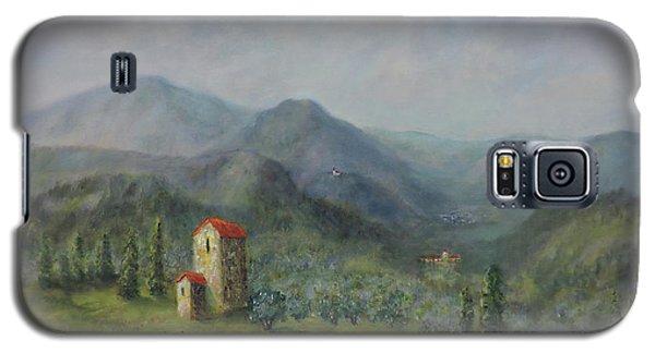Tuscany Italy Olive Groves Galaxy S5 Case