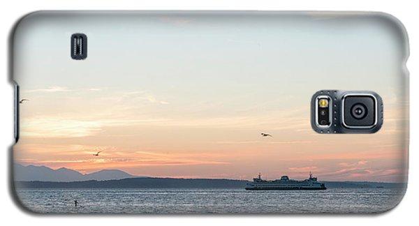 Twilight In Puget Sound Galaxy S5 Case