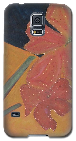 Two Flowers Galaxy S5 Case