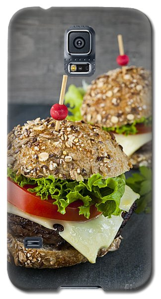 Two Gourmet Hamburgers Galaxy S5 Case