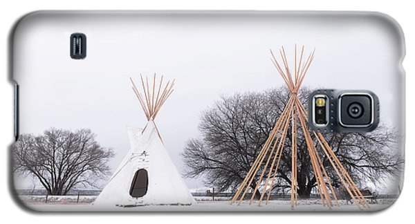 Two Tipis Galaxy S5 Case