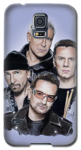 U2 Galaxy S5 Case by Melanie D