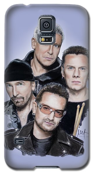 U2 Galaxy S5 Case by Melanie D