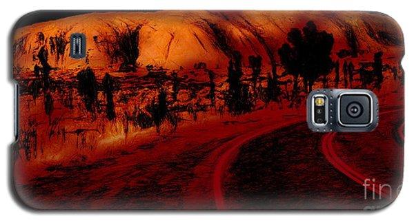 Uluru Sunrise Galaxy S5 Case