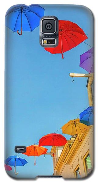 Umbrellas In The Sky Galaxy S5 Case