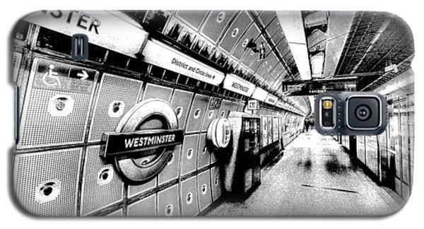 Underground London Art Galaxy S5 Case by David Pyatt
