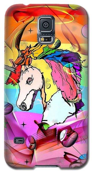 Unicorn Popart By Nico Bielow Galaxy S5 Case