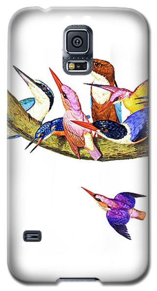 Galaxy S5 Case featuring the photograph United Family by Munir Alawi