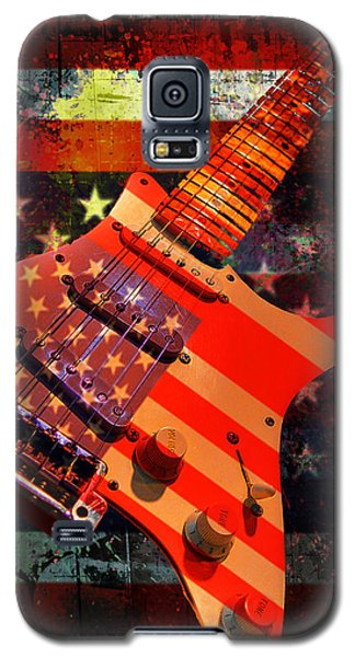 Usa Strat Guitar Music Galaxy S5 Case