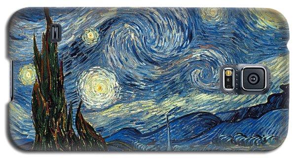 Van Gogh Starry Night Galaxy S5 Case by Granger