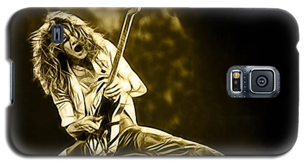 Van Halen Galaxy S5 Case - Van Halen Eddie Van Halen Collection by Marvin Blaine