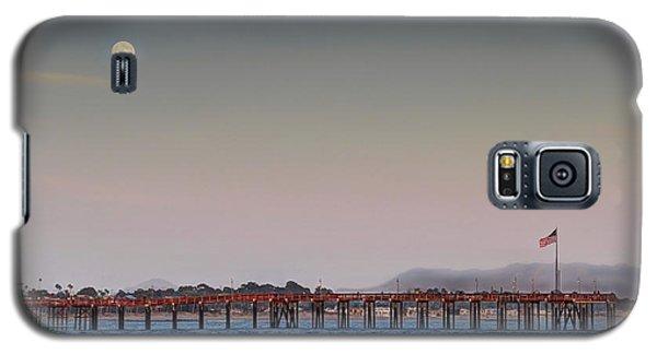 Ventura Pier Moonrise Galaxy S5 Case by Joe  Palermo
