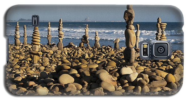 Ventura River Rock Art Galaxy S5 Case by Joe  Palermo