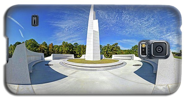 Veterans Freedom Park, Cary Nc. Galaxy S5 Case by George Randy Bass