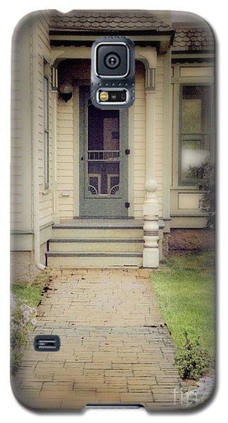 Galaxy S5 Case featuring the photograph Victorian Porch by Jill Battaglia