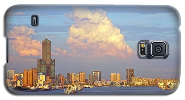 View Of Kaohsiung City At Sunset Time Galaxy S5 Case