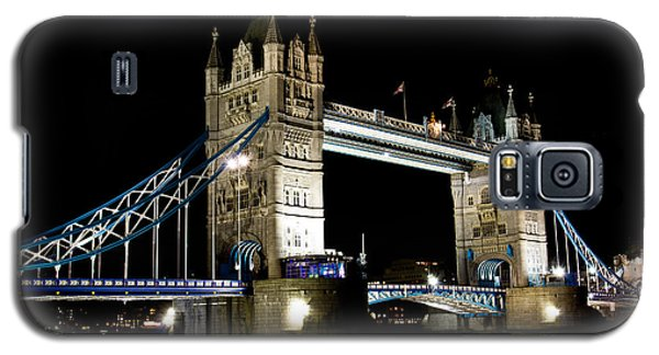 View Of The River Thames And Tower Bridge At Night Galaxy S5 Case