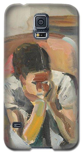 Wait Child Galaxy S5 Case by Daun Soden-Greene