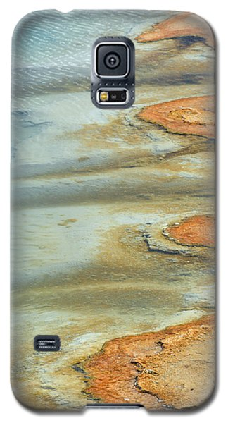 Wall Pool In Yellowstone National Park Galaxy S5 Case