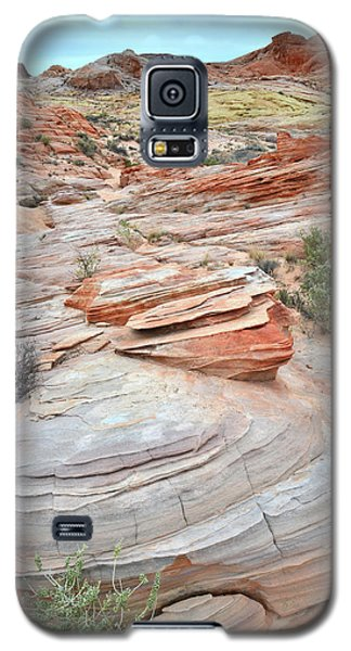 Galaxy S5 Case featuring the photograph Wash 3 In Valley Of Fire by Ray Mathis